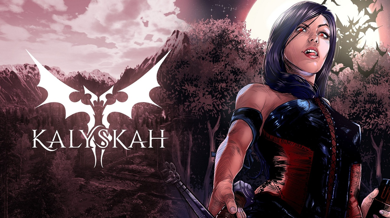 Kalyskah is an Adult Action-Adventure Role-Playing Game where you control Kalyskah Karnstein, a noble lady of a long-dead vampire family who wakes up after thousands of years of slumber. What awaits upon her awakening is a world that has changed for the worse.